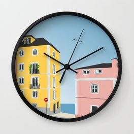 Live In Romance Wall Clock