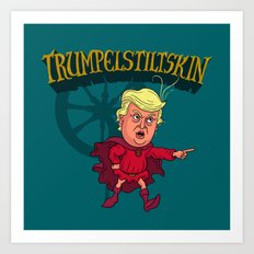 Trumpelstilskin Art Print