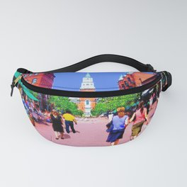 Vermont Street Painting Fanny Pack