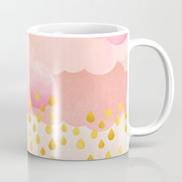 Rose gold rainshowers Coffee Mug