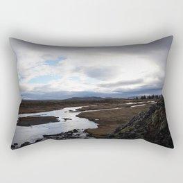 Thingvellir National Park - Iceland Rectangular Pillow