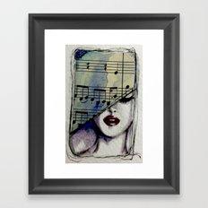 Sweet Music Framed Art Print