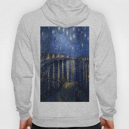 Vincent van Gogh's Starry Night Over the Rhone Hoody