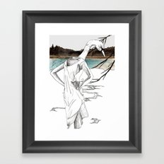 Cycnus Framed Art Print