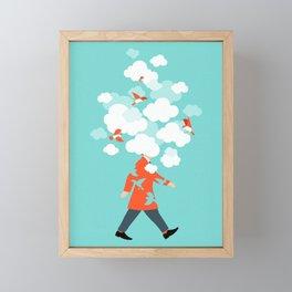 Head In The Clouds Framed Mini Art Print