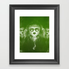 Those Who Are Dead Framed Art Print