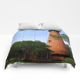 Currituck Beach Light Station Comforters