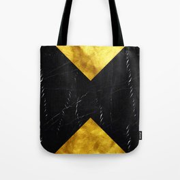 Black and Gold Marble Edition 1 Tote Bag