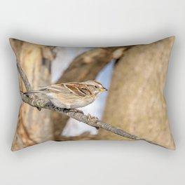 American Tree Sparrow Rectangular Pillow