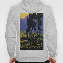 Vintage poster - Sunset Limited Hoody