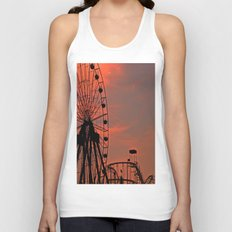 Sundown in Fun Town Unisex Tank Top
