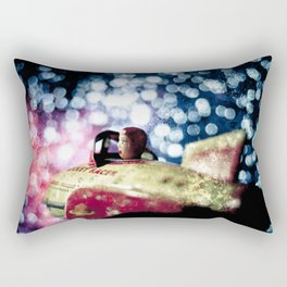 Lost in the Zurg Nebula from the series The Adventures of Rocket Racer Rectangular Pillow