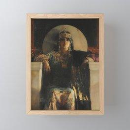 The Empress Theodora, Jean-Joseph Benjamin-Constant Framed Mini Art Print