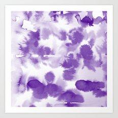 Aquatica Royal Art Print