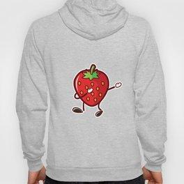 Cute Funny Dancing Strawberry Fruit Lover Tshirt Hoody