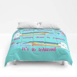 Double Rainbow Dash Comforters