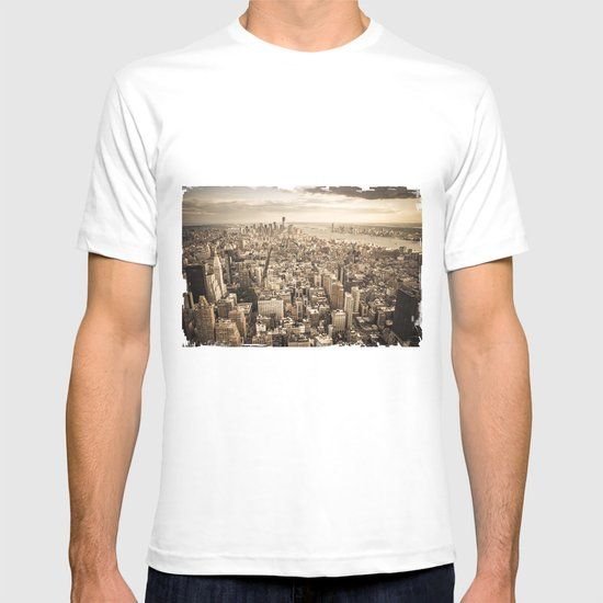New York from above T-shirt