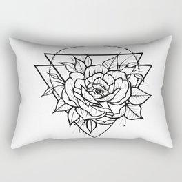 Crown Of Thorns - B&W Rectangular Pillow