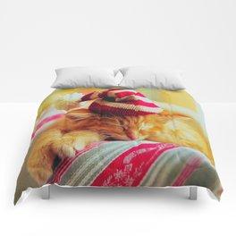 Kitty Christmas Comforters