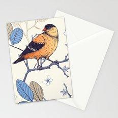 Birdie Pattern Stationery Cards