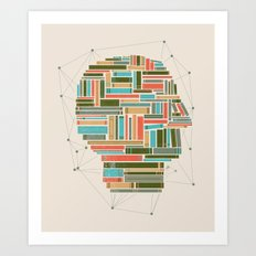 Socially Networked. Art Print