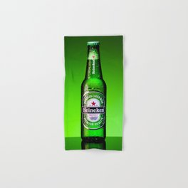 Ice cold Heineken Hand & Bath Towel