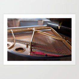 The Heart of the Piano Art Print