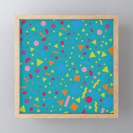 Geometric Figure Creation 2 Framed Mini Art Print