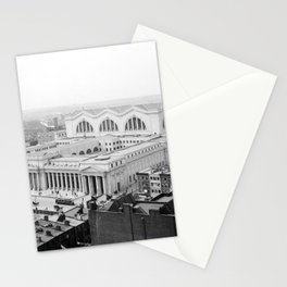 Pennsylvania Station aerial view 1910 Stationery Cards