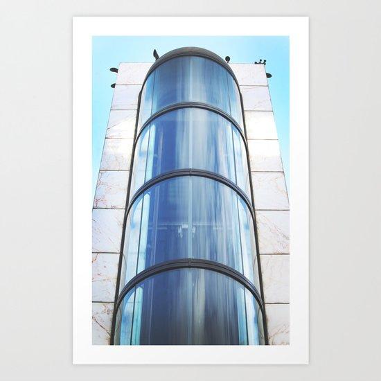 Vertical Rise Art Print