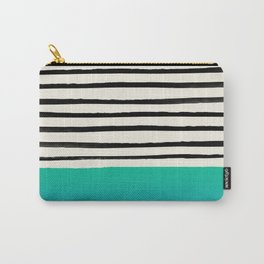 Mermaid & Stripes Carry-All Pouch