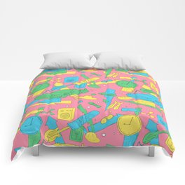 Back to the Doodles Comforters