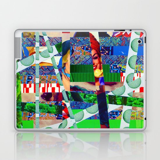 Chris (stripes 14) Laptop & iPad Skin