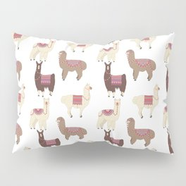 llamas and alpacas Pillow Sham