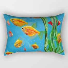 Fish Tank Rectangular Pillow