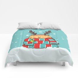 Christmas Cat Comforters