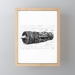 Thrust matters! Framed Mini Art Print
