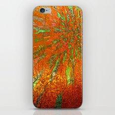 Metallic sun iPhone & iPod Skin