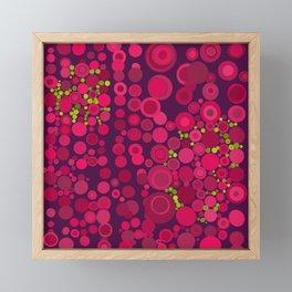 Groovy Dots Framed Mini Art Print
