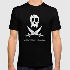 a Local Pirate Consortium Mens Fitted Tee X-LARGE Black