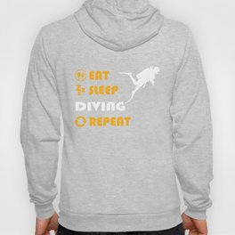 Diving - gift for men and women Hoody
