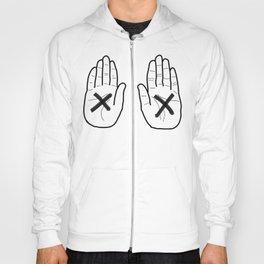 Hands White Hoody