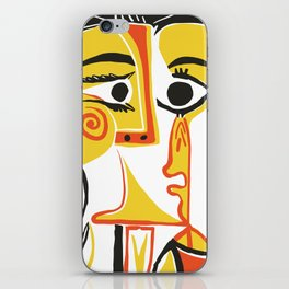 Picasso - Woman's head #2 iPhone Skin