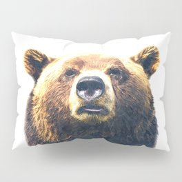Bear portrait Pillow Sham