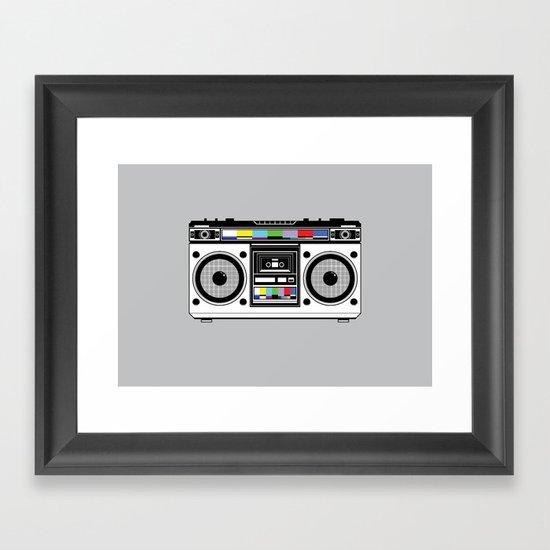1 kHz #8 Framed Art Print