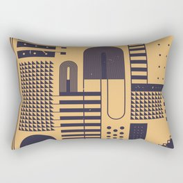 ELEKTRISCH Rectangular Pillow
