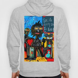 Don't be Evil Street Art Graffiti Hoody
