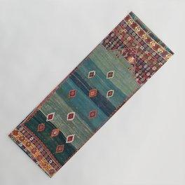 Sivas Antique Turkish Niche Kilim Print Yoga Mat