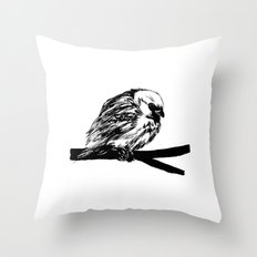 Bird Lover 2 Throw Pillow