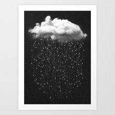 Let It Fall III Art Print